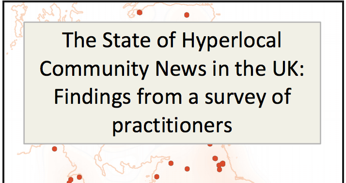 The State of UK Hyperlocal Community News