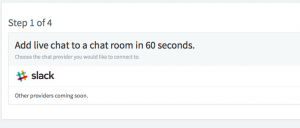 Adding a chat channel to your site with Slack and Chatlio