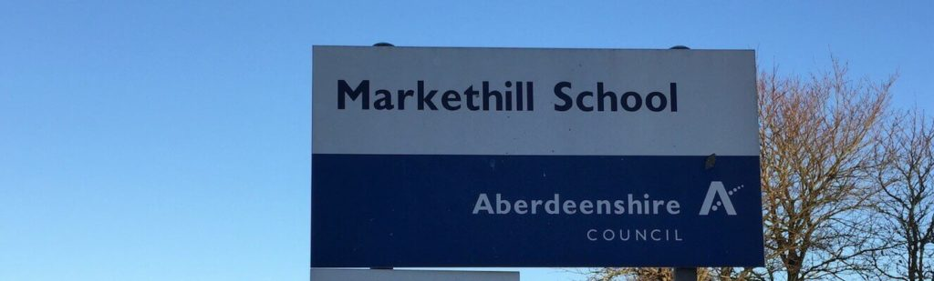 The old Markethill Primary School site