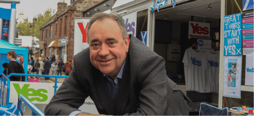 Alex Salmond to appear at the Edinburgh Fringe